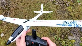 XK A800 RTF 6G/3D Flight Brushed Motor Glider Plane