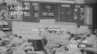 Tennis - Ray Moore Vs. Adriano Panatta - Bob Hewitt-Fred McMillan Vs. Paolo Bertolucci 1974 FOOTAGE