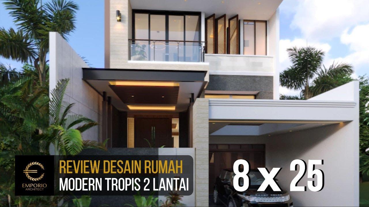 Video 3D Desain Rumah Modern 2 Lantai Bapak RM - Bogor, Jawa Barat