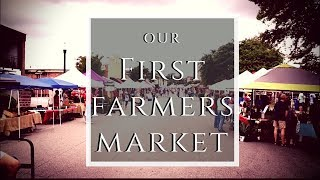 New Farmer Takes On First Market