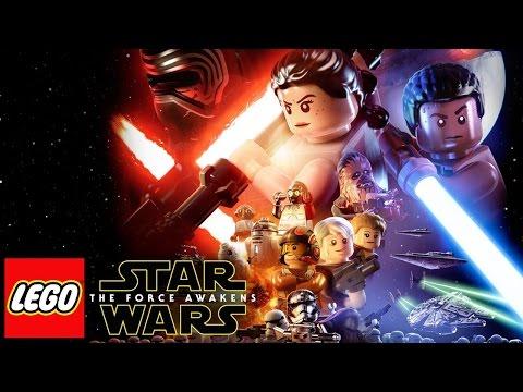 LEGO Star Wars El Despertar de la Fuerza Pelicula Completa Español - Game Movie 2016
