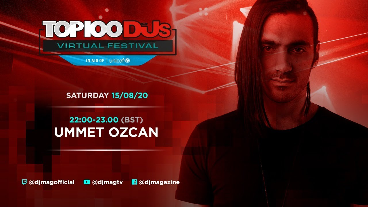 Ummet Ozcan - Live @ Top 100 Djs Virtual Festival 2020
