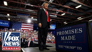 Trump hosts 'MAGA' rally in Fort Myers, Florida