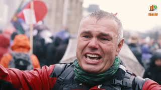 AM PIANINO CONTRA ARMATKI WODNE – PROTESTY – BERLIN 18.11.2020