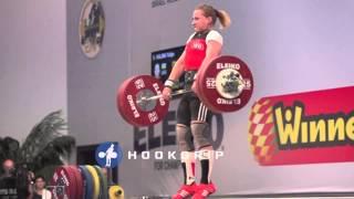 Yuliya Kalina (63) - 130kg Clean