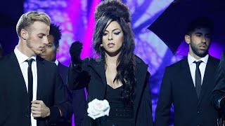 Ruth Lorenzo imita a Amy Winehouse en