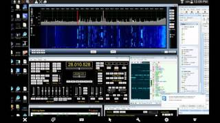 SDRUNO and SDR-PLAY SYNC TO YAESU FTDX-3000 - hmong video