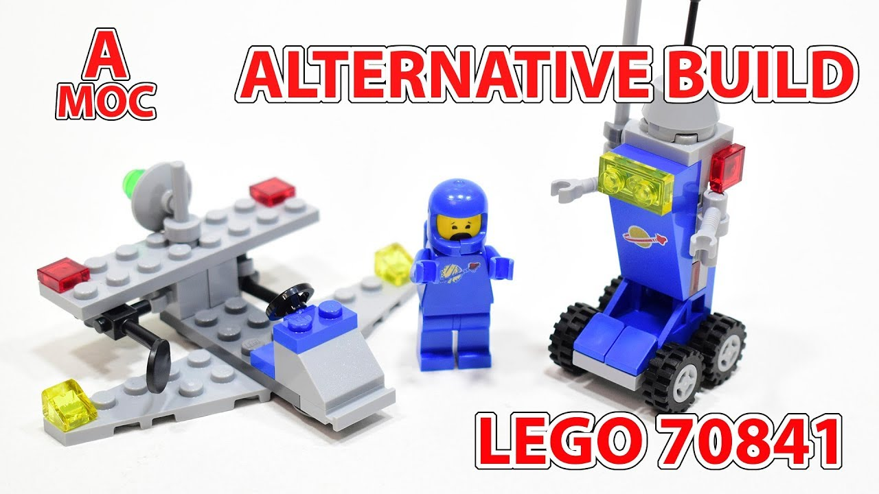 Welcome to the '80s! Classic space droid. LEGO 70841 alternate build review [A MOC]