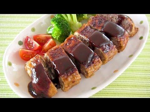 Healthy Pan-Fried Minced Cutlet (Menchi Katsu) Recipe 揚げ焼きメンチカツ レシピ
