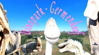 Spazierflug durch den Dinopark Germendorf ( Brandenburg - Germany ) - 4K - FPV