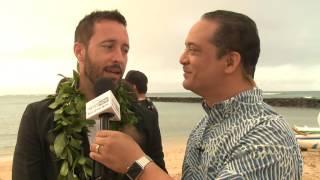 HAWAII FIVE-O ALEX OLOUGHLIN INTERVIEW SEASON 7