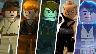 Anakin Skywalker Evolution in LEGO Videogames