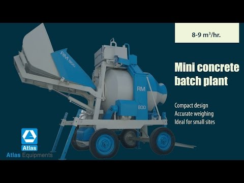 Mini Concrete Batch Mixer