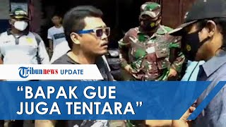 Ngaku Anak Tentara, Pria di Ciracas Tolak Sanksi saat Terjaring Razia Masker dan Tantang Petugas