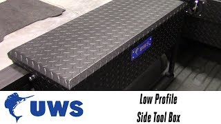 In the Garage™ with Total Truck Centers™: UWS Low Profile Side Tool Box