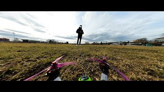 Gopro Max 360 on FPV Quad | Hyperlite Floss 2