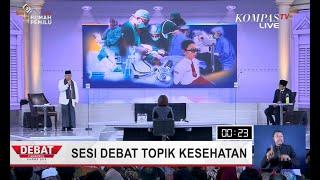 DEBAT PILPRES 2019 - Jokowi-Maruf Janji Turunkan Stunting 10 Persen dalam 5 Tahun