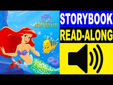 The Little Mermaid Read Along Story Book | Storybook 1 | Read Aloud Story Books For Kids