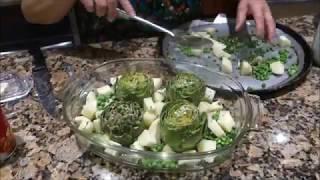Italian Grandma Makes Stuffed Artichokes