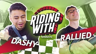 Riding with Dashy and Rallied | Presented by @NissanUSA