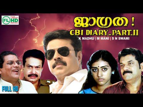 JAGRATHA || Malayalam  movie || Mammootty  | Sukumaran  |Mukesh | Parvathy |  Others