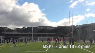 preview picture of video '2013 Ed Chaney Cup: Round Four - Marist St Pats vs Oriental Rongotai'