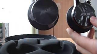 Unboxing Asus HS-W1 Wireless Headset (DEUTSCH)