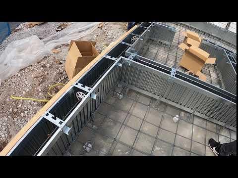 45角垂木設置状況