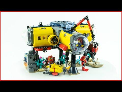 Vidéo LEGO City 60265 : La base d'exploration océanique