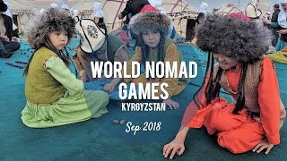 World Nomad Games 2018, Kyrgyzstan (Sep18)