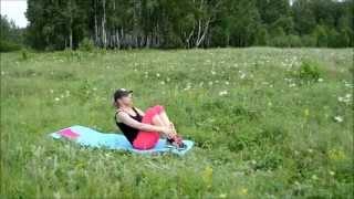 Тонкая талия и плоский живот за 9 минут в день ))
