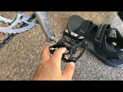 Shimano PD-T8000 touring pedal review
