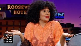Tracee Ellis Ross Steals Things From Diana Ross