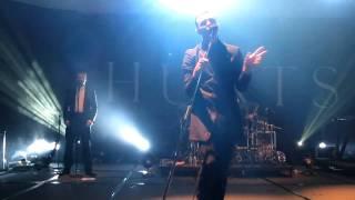 Hurts - Silver Lining (Live in Hong Kong 5/11/2011)