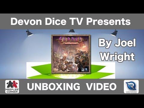 Unboxing Clank! The Mummy's Curse by Devon Dice Joel