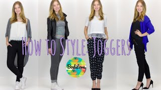 How To Style: Jogger Pants