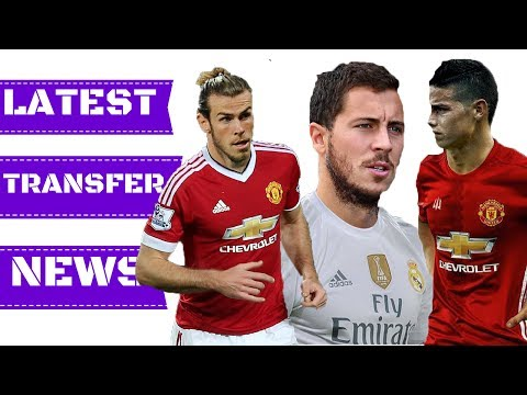Latest TRANSFER News | Top TRANSFER Targets | Perisic, Bale, James Rodriguez, Hazard, Sanchez |