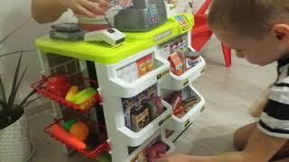 Игры дома. игрушечный магазин