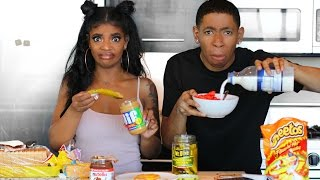 Download Youtube: WEIRD and BIZARRE Food Combinations People LOVE!!