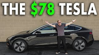 How I bought a Tesla for $78 Per Month