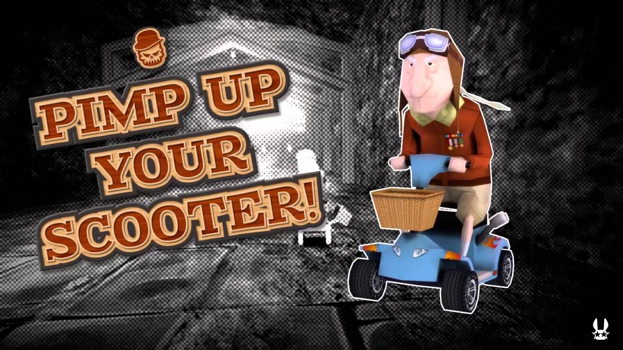 Coffin Dodgers, la course de karts à l'humour noir, annoncé sur PS4