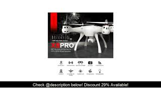 Review SYMA X8PRO GPS DRON WIFI FPV With 720P HD Camera or Real-time H9R 4K Camera drone 6Axis Alt