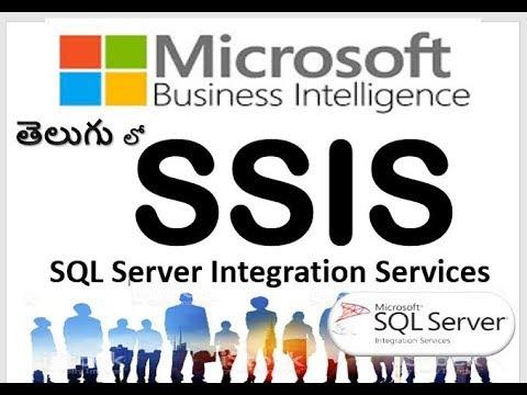 SSIS  in Telugu :SQL Server Integration Services in Telugu