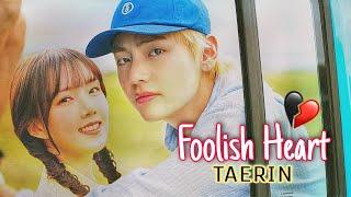 TAERIN - FOOLISH HEART mini drama (BTS TAEHYUNG & GFRIEND YERIN fmv)   k-pop fanaticzz