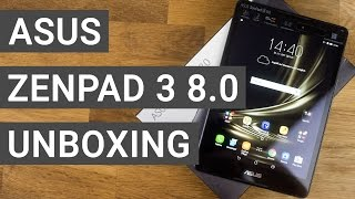 ASUS ZenPad 3 8.0 Unboxing & First Impressions