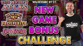 🎰 New Game Bonus Challenge 🎰 First Time Landing The Bonus!