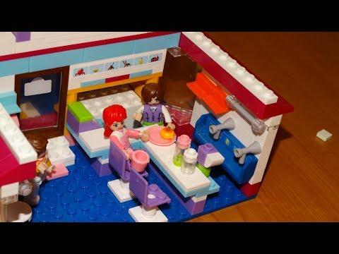lego cafe - Розовая мечта от Sluban - 8 марта