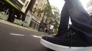 Marbel Electric Skateboard,  Just Give me the Beat by Ghostland Observatory