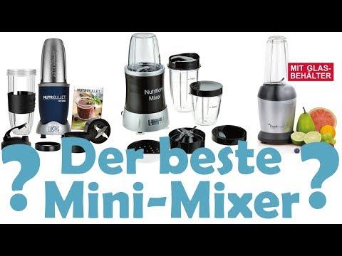 Der beste Mini-Mixer, Personal Blender, Smoothie-Maker, Multi-Mixer - auf Reisen? Vergleich!