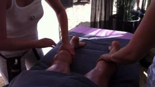 Massage Sur La Plage à 4 Mains Des Sables D'Olonne à  Par ID Instant Détente
